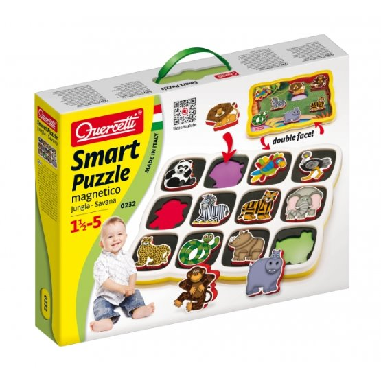 Smartz Puzzle magnetico - Jungle