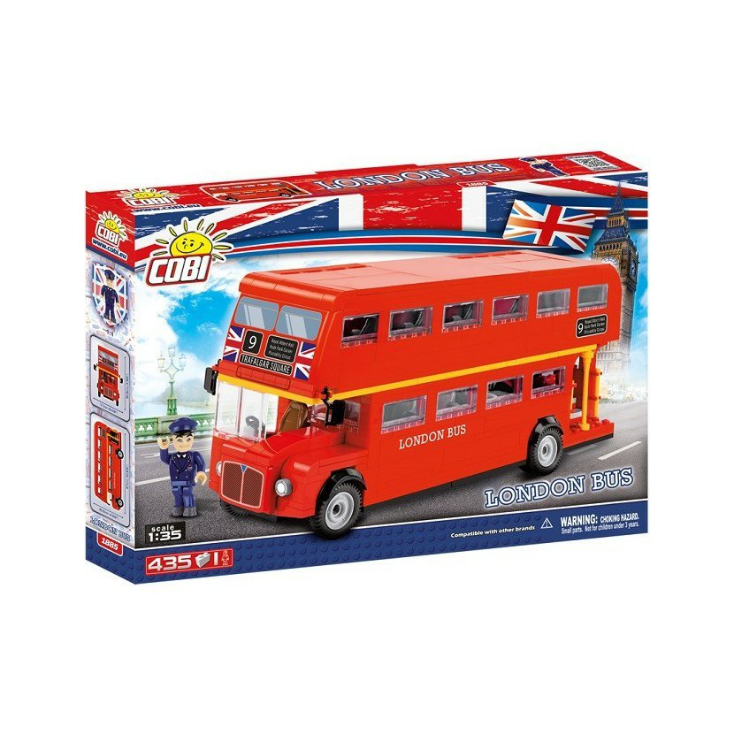 Cobi 1885 London bus 1:35, 435 k, 1 f