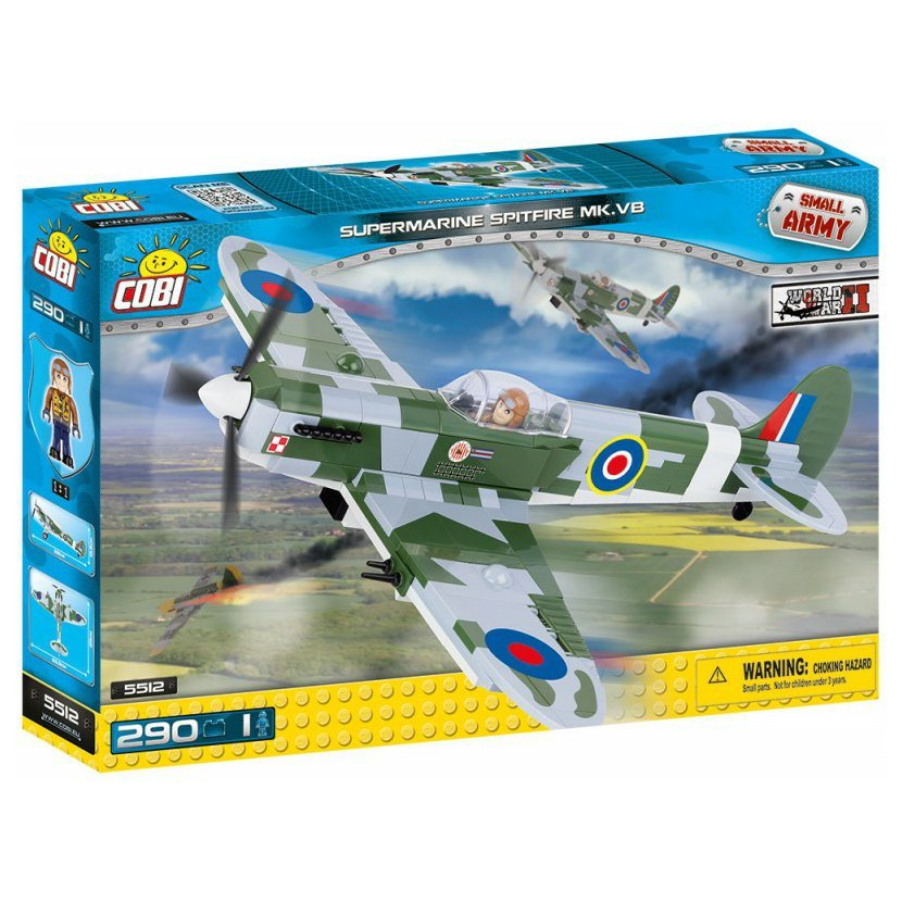 SMALL ARMY - Supermarine Spitfire Mk VB 290 k, 1 f