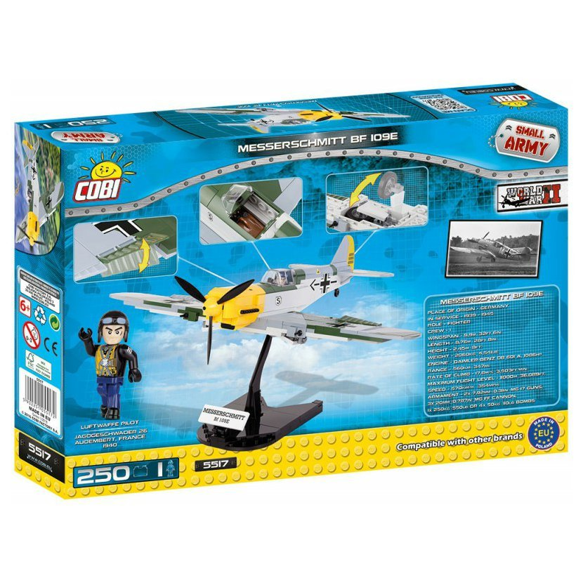 SMALL ARMY - Messerschmitt Bf 109 E, 250 k, 1 f
