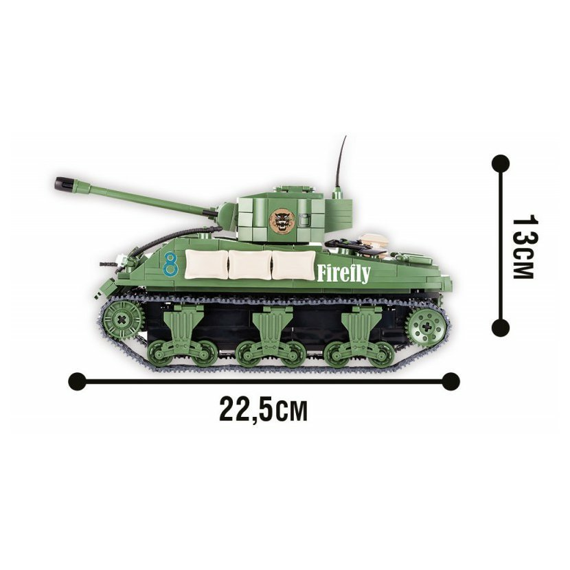 World of Tanks M4 Sherman A1/Firefly 450 k, 1 f