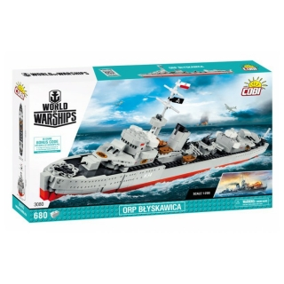 Cobi 3080 World of Warships – ORP Blyskawica, 1:200, 680 k